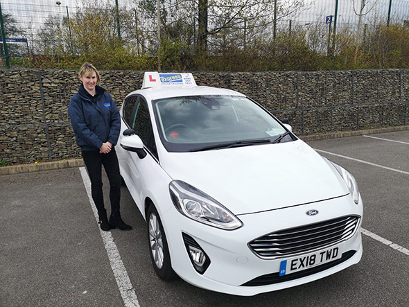 Female driving instructor for Accrington